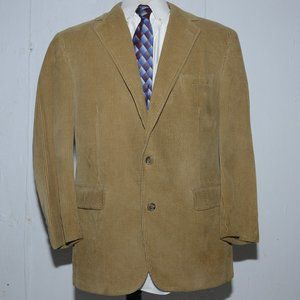 Brooks brothers corduroy mens sport coat size  M
